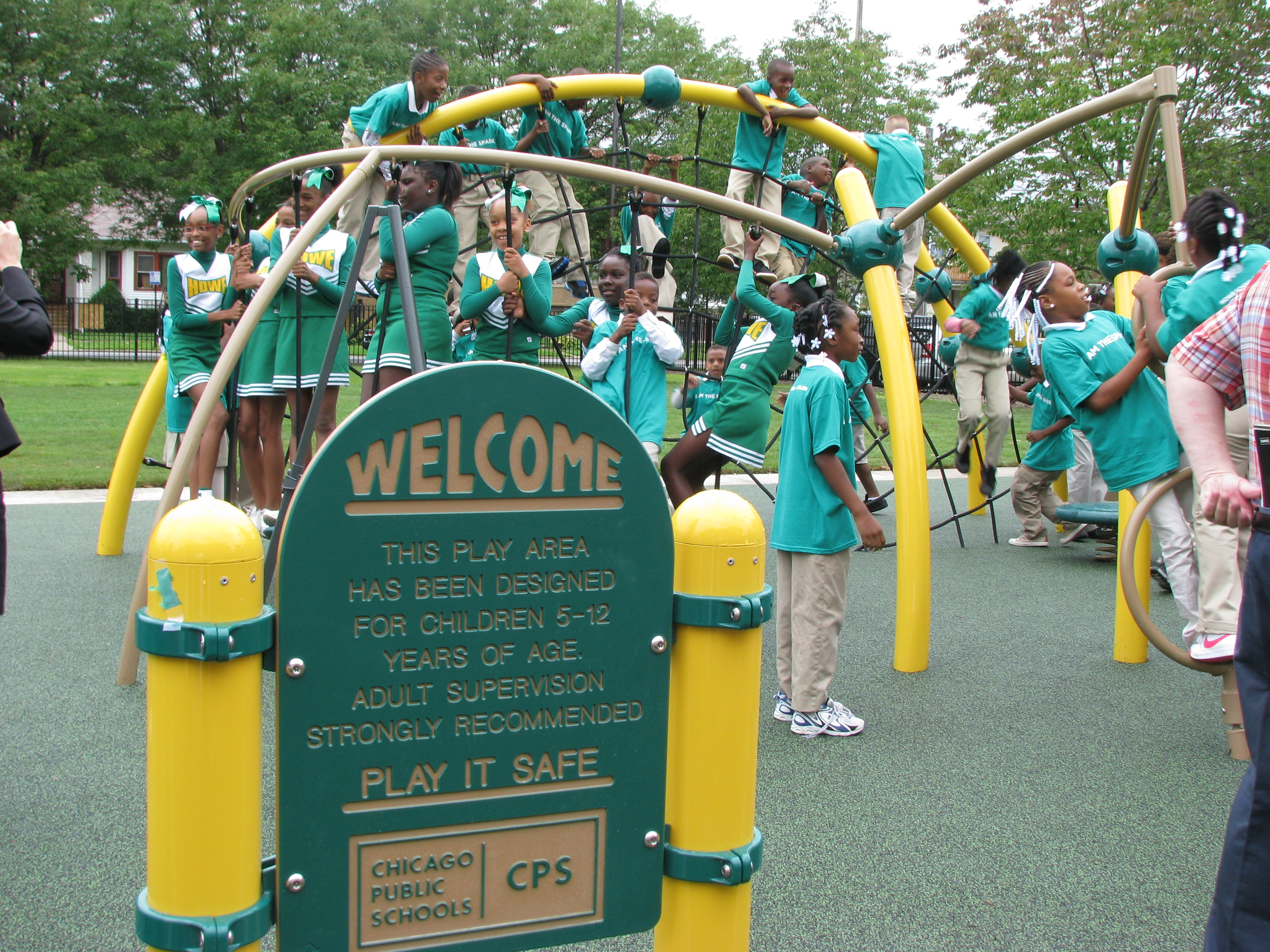 Corporate Partnership Builds A Public School Playground We The - Howe public schools